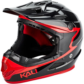 Kali Zoka Helmet Herr black/red
